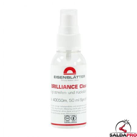 Detergente Brilliance Clean spray 50ml per pulizia metalli