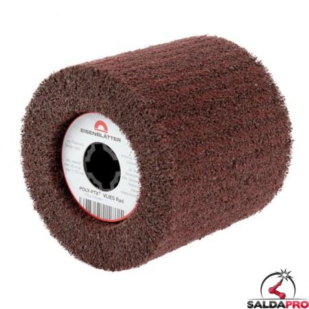 Rullo in fibra di nylon abrasiva POLY-PTX Ø115x110mm, grana 60-180