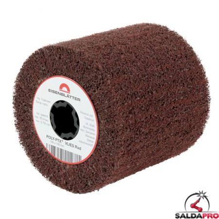 Rullo in fibra di nylon abrasiva POLY-PTX Ø105x100mm, grana 60-600