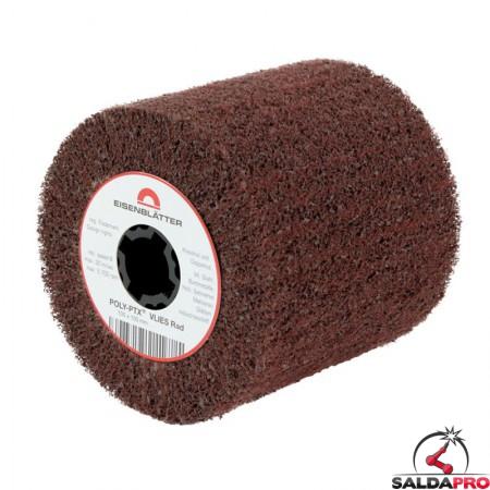 Rullo in fibra di nylon abrasiva POLY-PTX Ø105x50mm, grana 60-280