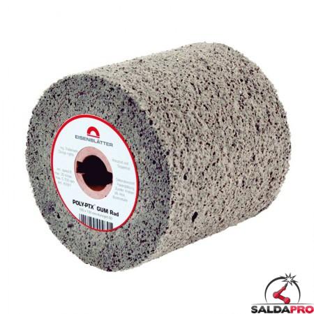 Rullo in gomma morbida POLY-PTX Ø105x100mm elimina graffi, grana 60-180