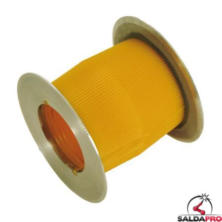 Rullo per nastri abrasivi Ø85x70mm montabile su adattatore