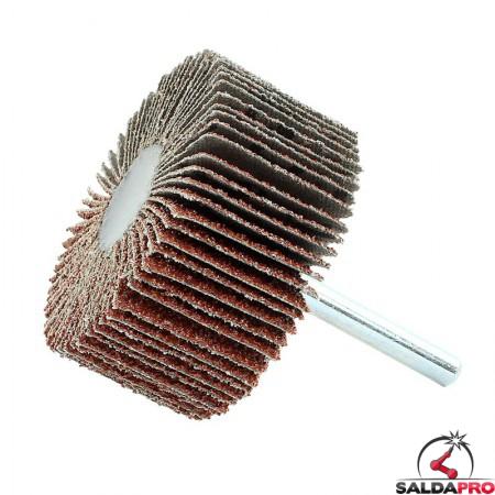 Ruote lamellari Mini Max Ø60x30mm per smerigliatura metalli