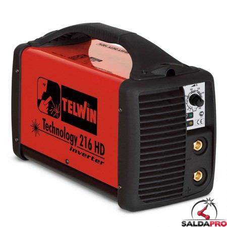 Saldatrice Inverter MMA e TIG TECHNOLOGY 216 HD 230V