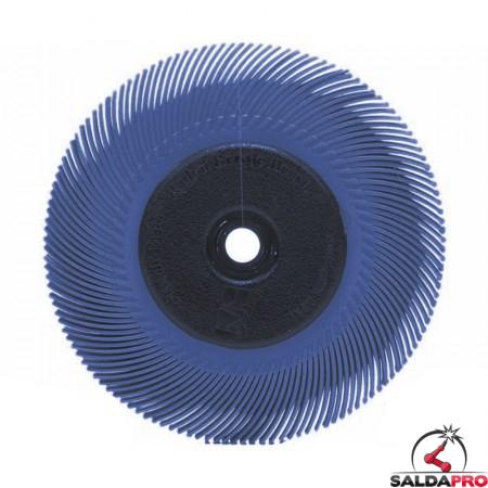 Spazzola radiale 3M Bristle a filo curvo Tipo C Ø150 mm, grana 400