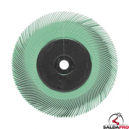 Spazzola radiale 3M Bristle a filo curvo Tipo C Ø150 mm, grana 1 micron