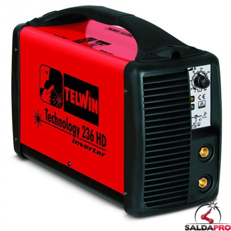 Saldatrice Inverter MMA e TIG TECHNOLOGY 236 HD 230V