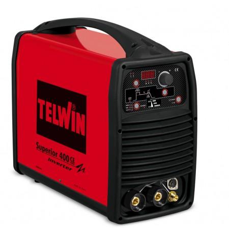 Saldatrice Inverter MMA e TIG-LIFT SUPERIOR 400 CE VRD 230-400V Telwin