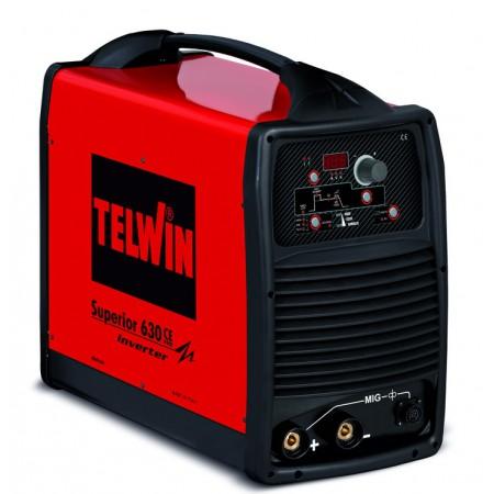 Saldatrice Inverter MMA e TIG-LIFT SUPERIOR 630 CE VRD 230-400V Telwin