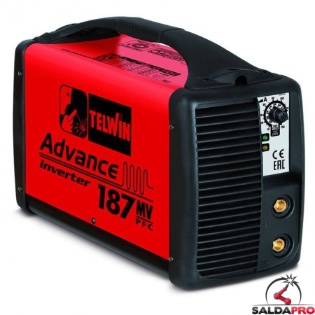 Saldatrice Inverter MMA e TIG ADVANCE 187 MV/PFC 100-240V
