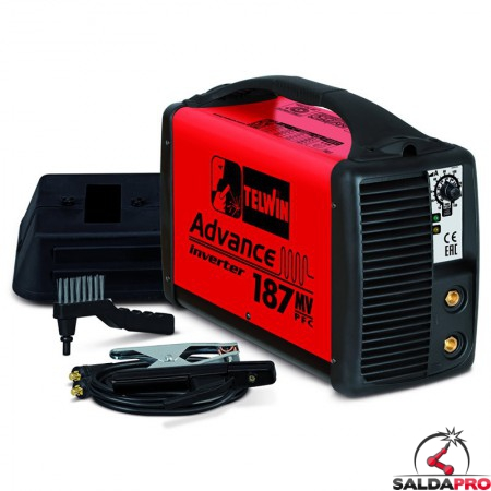 Saldatrice Inverter MMA e TIG ADVANCE 187 MV/PFC 100-240V in kit