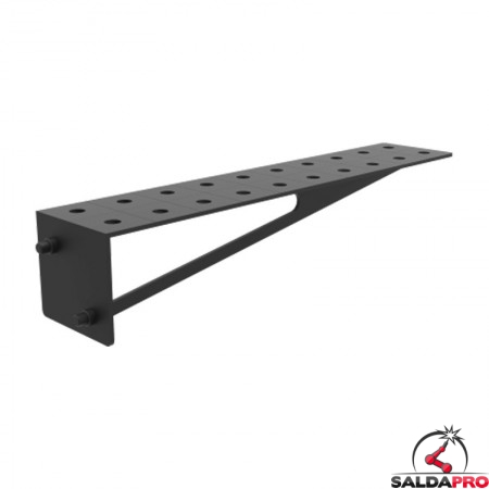 Estensione 1000x200mm per tavoli saldatura SteelEco GPPH, spessore 8mm fori 16mm