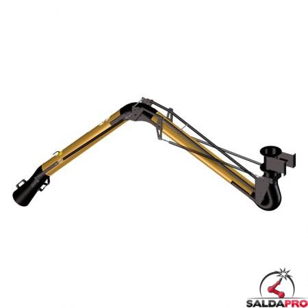 retro braccio aspirante Aspirex 4.2 per saldatura Dalpitech