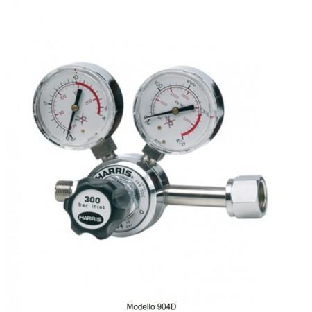 Riduttore di pressione per Co2 gas puri Harris modello 904 reg. 0-10 bar
