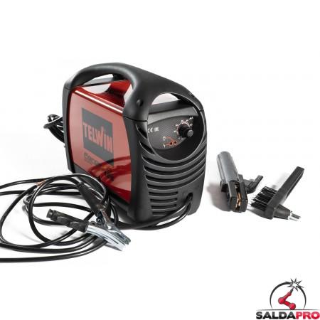 Saldatrice Inverter MMA FORCE 125 230V con valigetta e accessori
