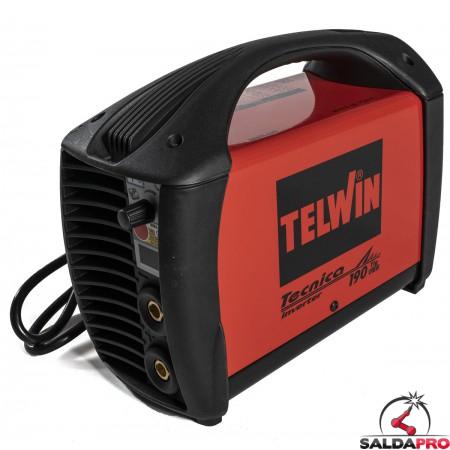 Saldatrice Telwin Inverter TECNICA 190 TIG 230V con dispositivo VRD