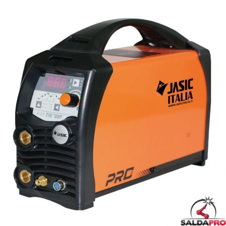saldatrice TIG DC 200P Jasic innesco HF con funzione pulsato