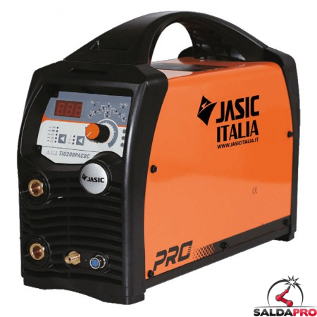 saldatrice TIG AC/DC 200P Jasic innesco HF con funzione pulsato