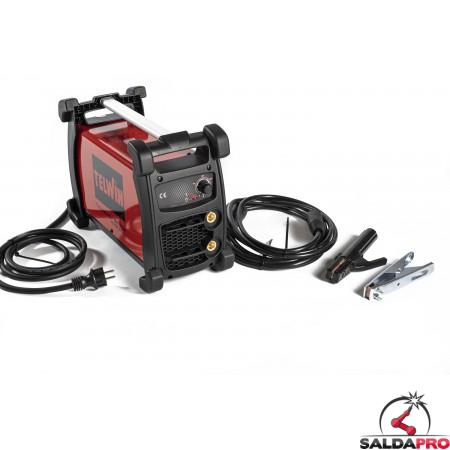 Saldatrice Technology 186 XT MPGE 230V Telwin saldatura TIG/MMA