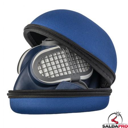 dettaglio custodia respiratore a semimaschera GVS SPR591