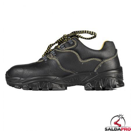 vista laterale scarpe antinfortunistiche Cofra New Tamigi S1 P SRC