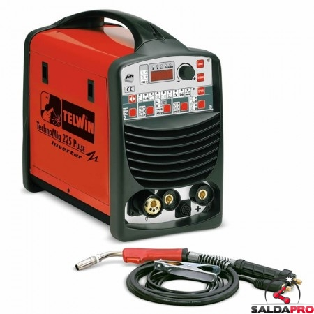 Saldatrice Inverter a filo TECHNOMIG 225 PULSE 230V
