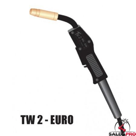 Torcia completa TW2 attacco EURO per saldatura MIG