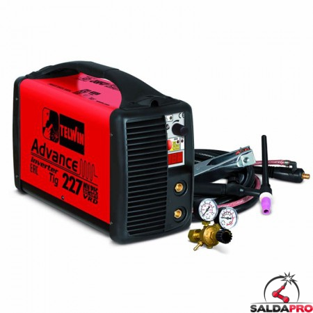 Saldatrice Inverter ADVANCE 227 TIG DC 100-240V