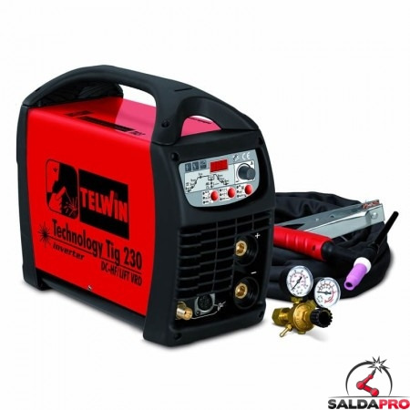 Saldatrice Inverter TIG TECHNOLOGY 230 DC-HF/LIFT 230V