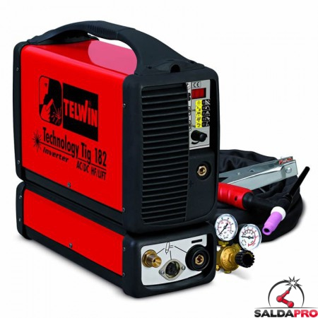 Saldatrice Inverter TECHNOLOGY TIG 182 AC DC - HF LIFT 230V