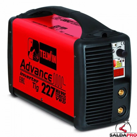 Saldatrice Inverter ADVANCE 227 TIG DC - LIFT 400V