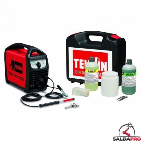 Kit sistema pulizia CLEANTECH 200 230V Telwin