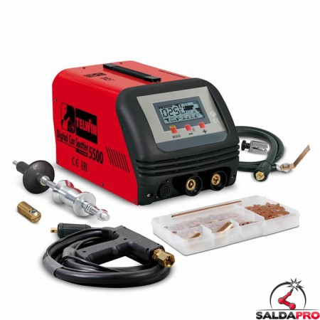Saldatrice a resistenza elettronica DIGITAL CAR SPOTTER 5500 230V AUTOMATIC