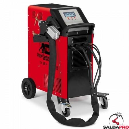 Saldatrice a resistenza elettronica DIGITAL SPOTTER 9000 400V