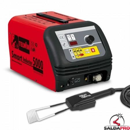 Sistema di riscaldamento SMART INDUCTOR 5000 TWISTER 200/240V