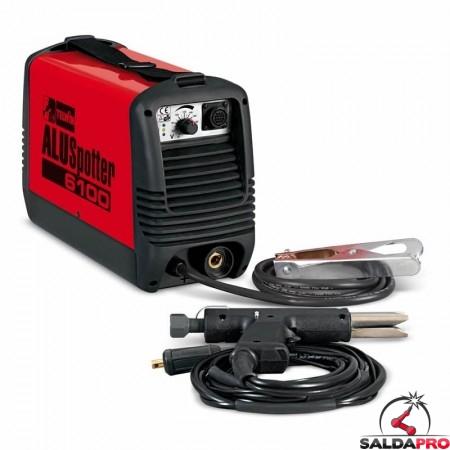 Saldatrice a scarica capacitiva ALUSPOTTER 6100 115/230V + accessori