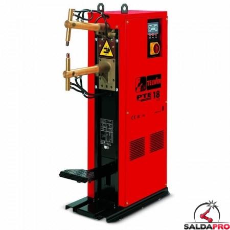 Saldatrice a resistenza a colonna puntatrice PTE 18 LCD 400V