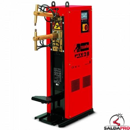 Saldatrice a resistenza a colonna puntatrice PTE 28 LCD 400V