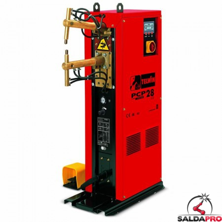 Saldatrice a resistenza a colonna puntatrice PCP 28 LCD 400V