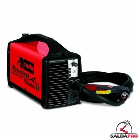 Tagliatrice al plasma ad aria compressa TECNICA PLASMA 31 230V