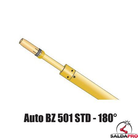 Torcia automatica BZ 501 STD - 180 gradi saldatura MIG