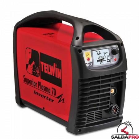 Tagliatrice al plasma ad aria compressa SUPERIOR PLASMA 70 230/400V solo generatore