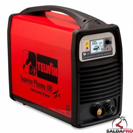 Tagliatrice al plasma ad aria compressa SUPERIOR PLASMA 100 230/400V solo generatore