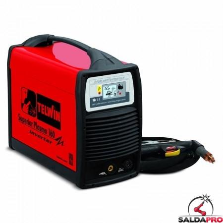 Tagliatrice al plasma ad aria compressa SUPERIOR PLASMA 160 230/400V