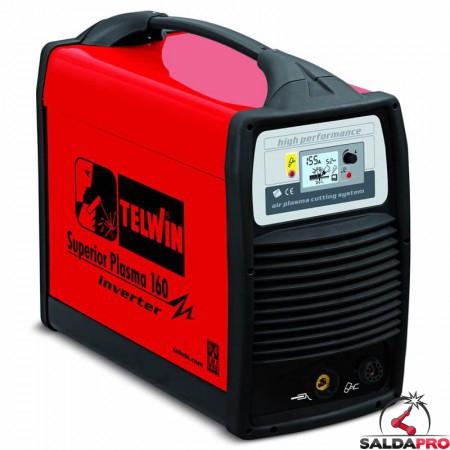 Tagliatrice al plasma ad aria compressa SUPERIOR PLASMA 160 230/400V solo generatore