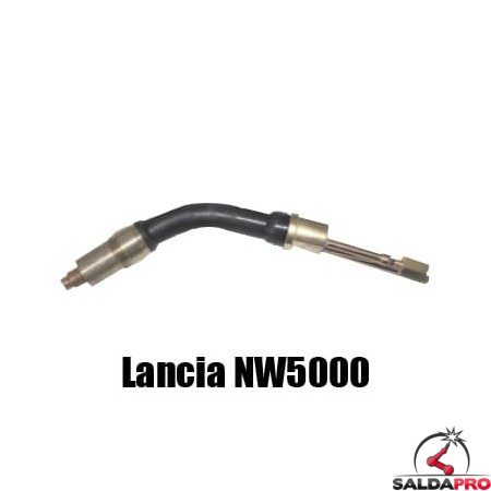Lancia di ricambio per torcia H2O NW5000 per saldatura MIG