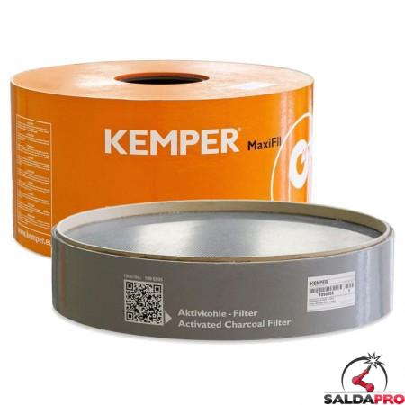 Set filtro principale e filtro carboni attivi MaxiFil Active - KEMPER®