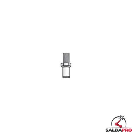 Diffusore tubetto ottone prolunga torce al plasma CEBORA® Lincoln® (10pz)