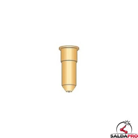 Ugello rame conico lungo Ø1,0 mm torce al plasma Cebora (10pz)