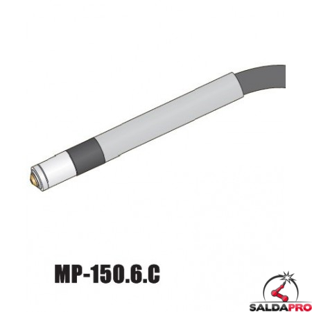 Torcia macchina completa Cebora MP150 attacco centralizzato taglio al plasma